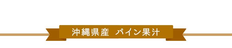 沖縄県産 パイン果汁