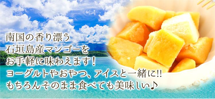 冷凍マンゴー