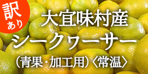 「沖縄県・大宜味村産」シークヮーサー (青果・加工用)