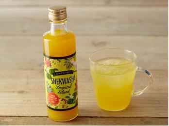 トロピカルアイランド シークヮーサー果汁入り飲料(沖縄県産)